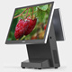 15 inch dual screen pos system cash register