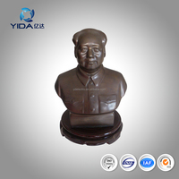 2016 Chinese handicrafts copper Chairman Mao craft gift