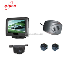 Wireless Reverse Camera Ultrasonic Parking Sensor with Screen Backup Radar Detector