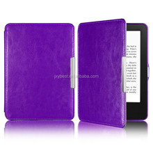 PU Leather Skin magnetic Case Flip Thin Protective Stylish Cover For Amazon Kindle 558