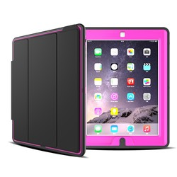 Guangzhou Factory Best Selling PU Leather Cover for iPad 2/3/4 case for iPad 3
