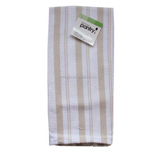 100 Cotton Manufacturer Sell Direct Tea Towels Kitchen Yarn Dyed Stripes Design