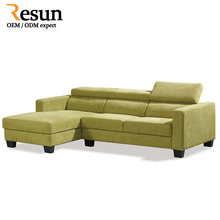 Resun pictures of latest living room wooden sofa design for hotel
