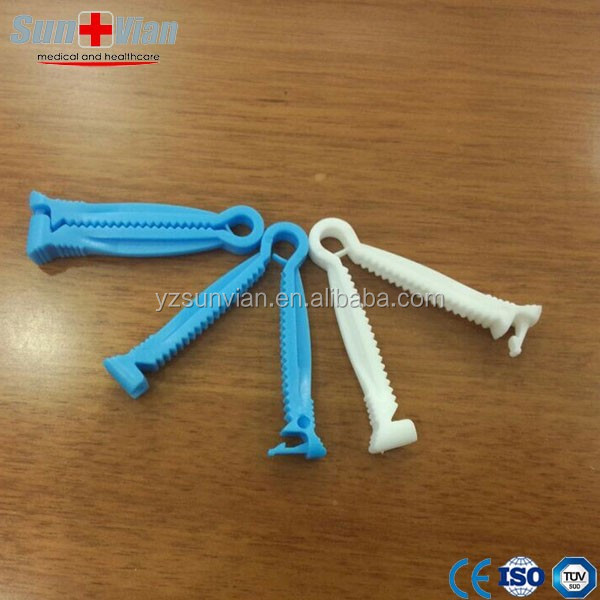 Disposable Plastic Umbilical Cord Clamp