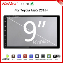 "Kirinavi WC-TH9015 9"" andriod 6.0 car navigation system for toyota hilux dashboard 2015 + Dashboard Placement"