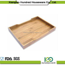 Non-Deformation First Choice rectangle bamboo tea tray