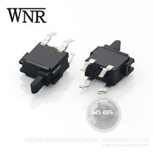 Good quality WNRE SMD mini switch 4pin MS-005 plunger type Micro Switch
