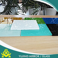 Customized Printed Glass Splashback 3mm - 10mm Painted Glass for Kitchen and Cabinet , Kitchen