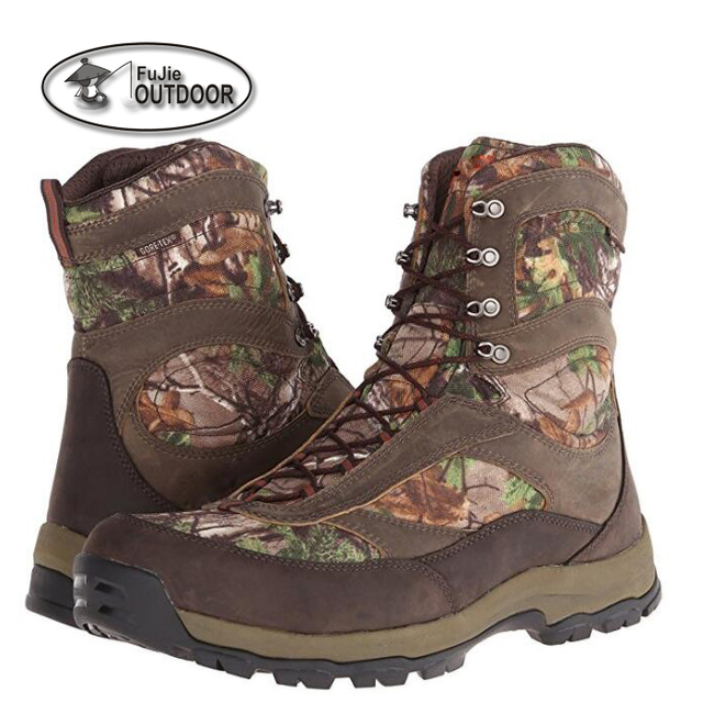 Mens Winter hunting Boots Camouflage 10