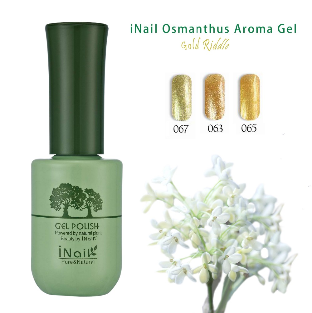 Fei Fan 2017 Hot Sale Inail Osmanthus Bottles Pure Color Gel Polish For Wholesale free sample
