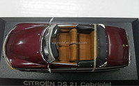 1:43 oem diecast citroen ds 21 cabriolet model car