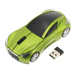 2.4GHz Wireless Mouse Racing Car Mouse Gamer Wireless Car Optical USB Mouse/Mice 3D 3 Buttons 1000 DPI/CPI for PC Laptop Desktop