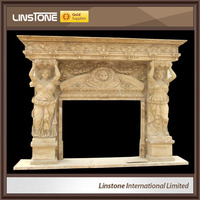 China Many Types Of Victorian Style Antique French Fireplace