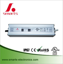 single output LED driver 12v 6.67A 80W ac/dc switching power supply with CE/UL/ROHS listed