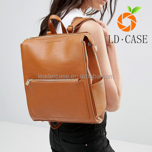 Womens Ladies Girls High Quality PU Leather Travel Backpack