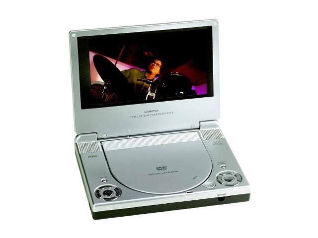 "Audiovox D1708 portable reproductor de dvd con 7 ""16: 9 lcd"