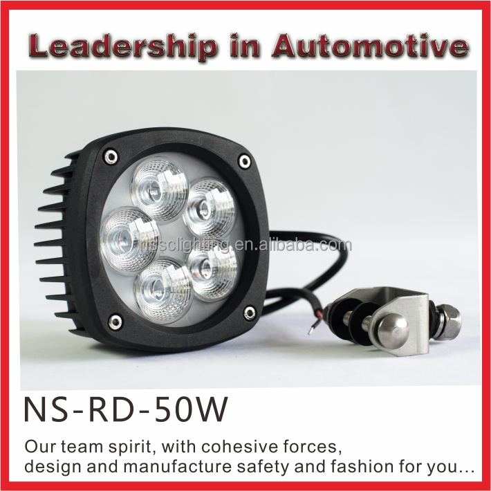 New! NSSC High power 50w LED Motorcycle Driving light spot beam flood beam