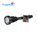 CREE SST-50 led flashlight waterproof military equipment,1300LM lanterna led tactical flashlight 3*18650 battery flashlight