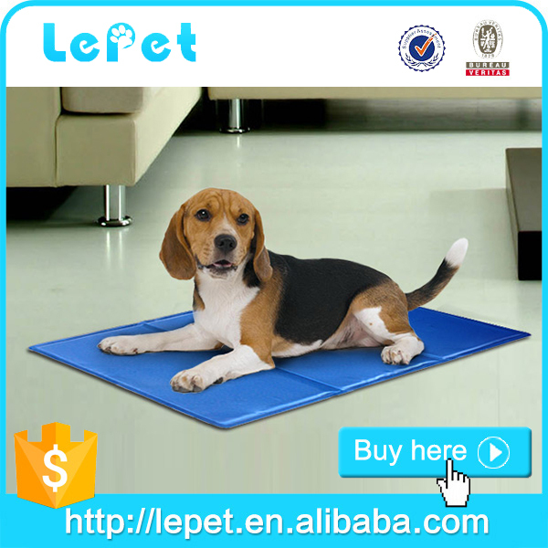 Manufacturer wholesale gel+sponge dog cooling gel pad/waterproof pet mat/cooling pad for dogs