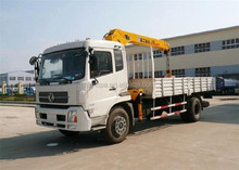 China manufacturer 5 ton 4*4 truck crane for sale