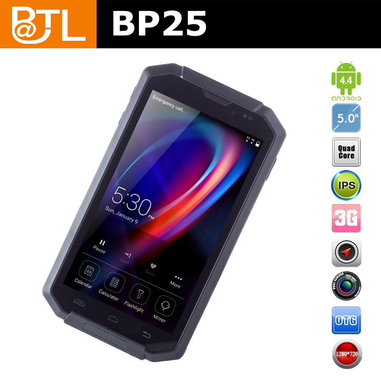 WDF969 BATL BP25 Sunlight Readable 2+8MP handy ticket smartphone,android phone for apps management
