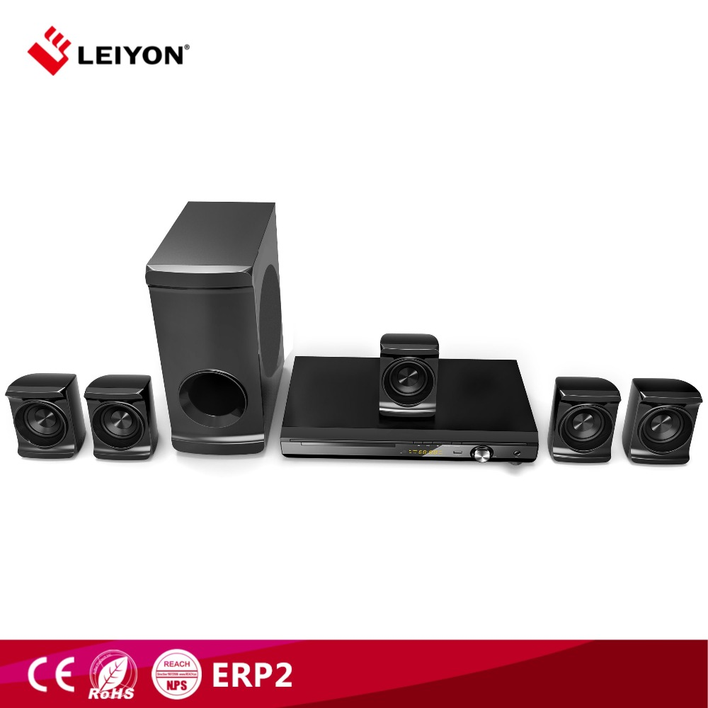China supplier 75W 5.1 home theatre with leiyon brand LY-HT432