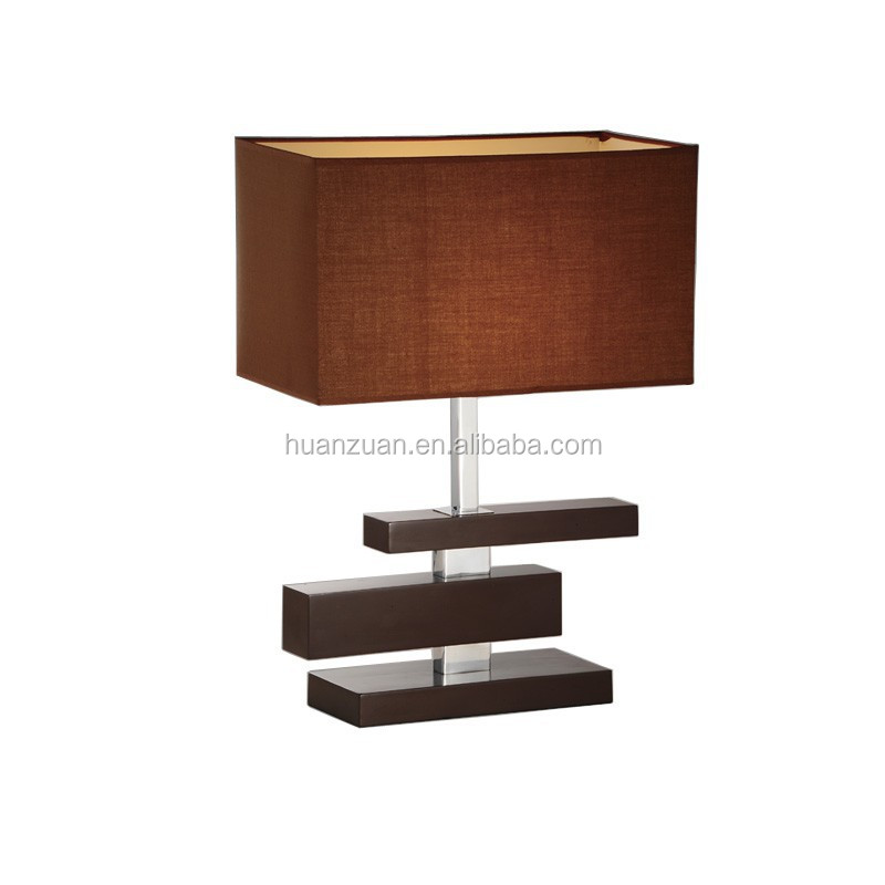 Coffee Fabric Modern Wood Table Lamp Living Room Wooden Lamp Wooden Side  Light   Buy Coffee Fabric Shade Modern Wood Post Table Lamp With Plug Cord. Coffee Fabric Modern Wood Table Lamp Living Room Wooden Lamp