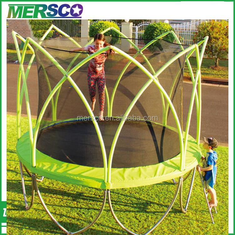 pas cher en plein air rectangulaire trampoline avec filet de s curit trampolines id de produit. Black Bedroom Furniture Sets. Home Design Ideas