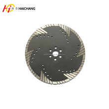 hot pressed Diamond Blades Triangle Turbo diamond saw blade for granite