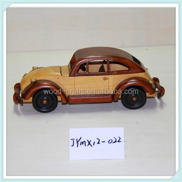 handmade multifunction wooden model toy car
