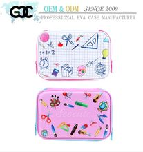 GX Custom Printed colorful EVA pencil case box