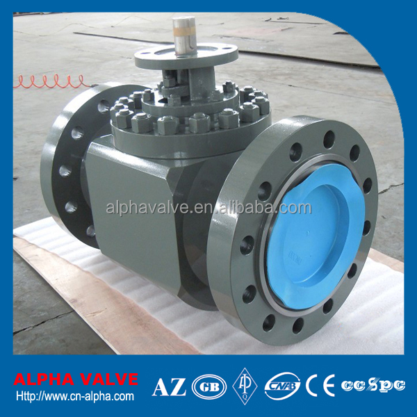 API 6D Full Bore Trunnion Mounted Flanged Top Entry Ball Valve