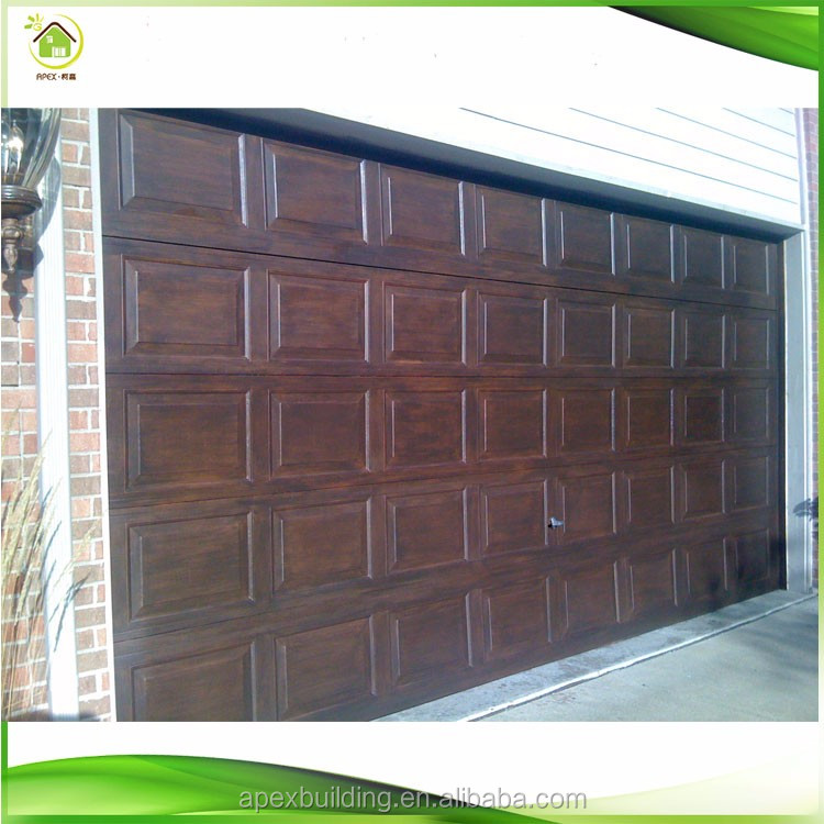 Wholesale Special China Solid Wood Folding Garage Doors Buy China