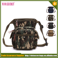 China newest canvas motorcycles waist leg bag for men