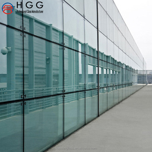 used commercial soundproof wall and parapet wall structure curtain wall glass