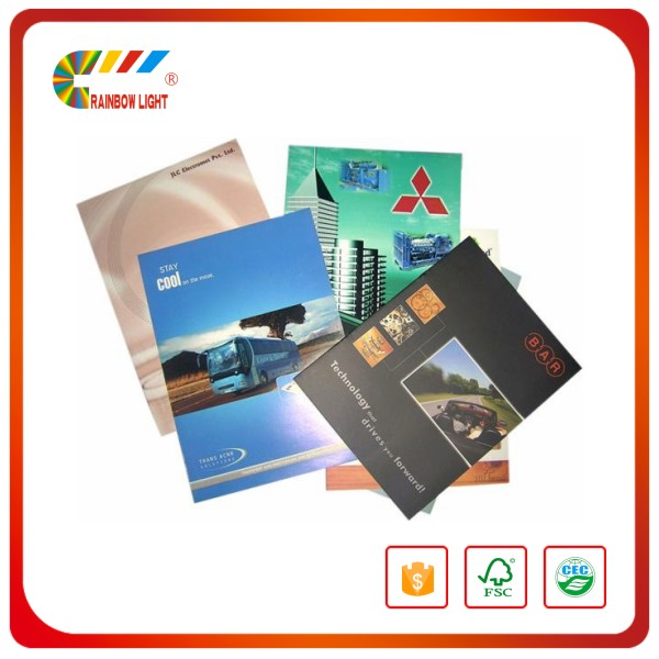 China full color paper book machine instruction manual