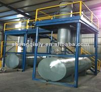 2012 New design of semi-automatic plastic recycle plant