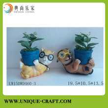 Resin handicraft animal figure gifts for home decorations