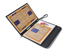 Dry erase magnetic basketball coach board