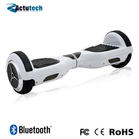 2015 hot sell bluetooth and music playing two wheel mini smart balance electric scooter