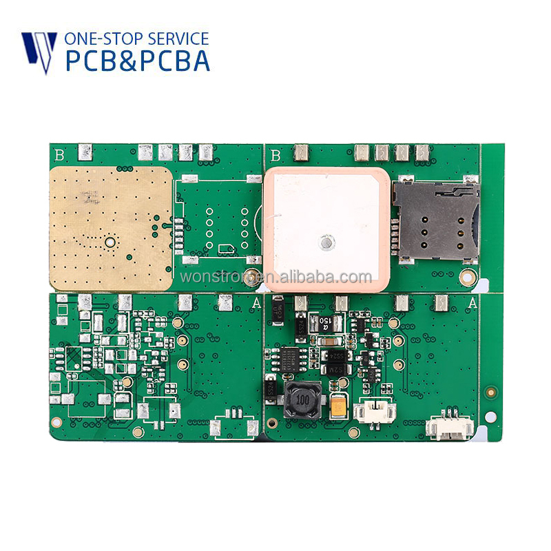 Factory supplier GPS tracker pcb assembly fr-4