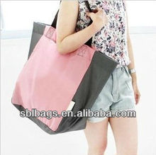 Korea summer products&folding shopping paper bag&latest fashion bags