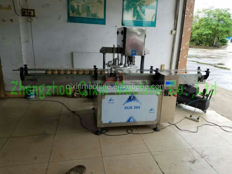 Automatic cans sealing machine beverage can seamer machine tin can sealing machine
