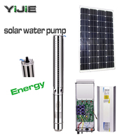3kw 4hp deep well solar water pump china good quality water pump