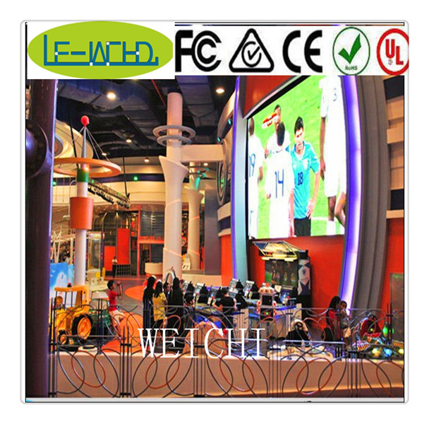 programmable scrolling name badge p6 module surper quality indoor p7.62 led sign display