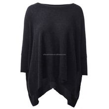 2015 winter new design 100% cashmere poncho women
