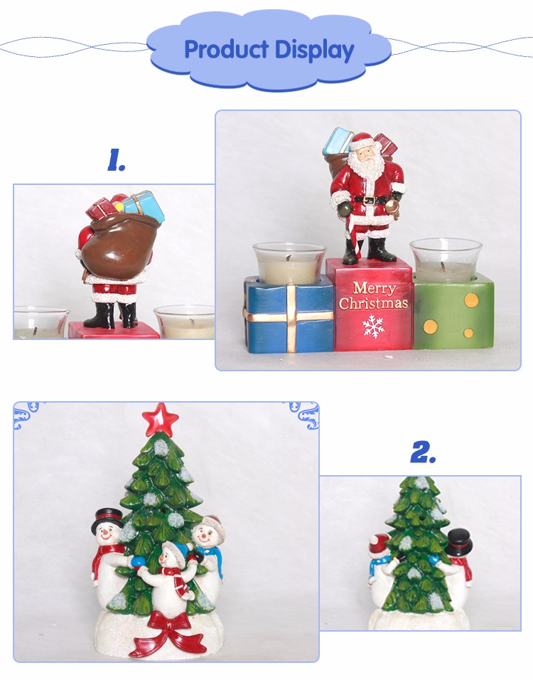 Wholesale Low Price Personalized Resin Christmas Ornaments