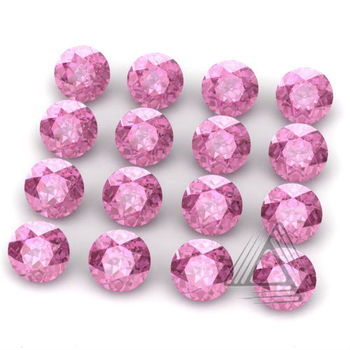 lab created pink sapphire gemstones buy small