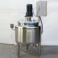 Stainless steel tank lotion making machine 25 gal