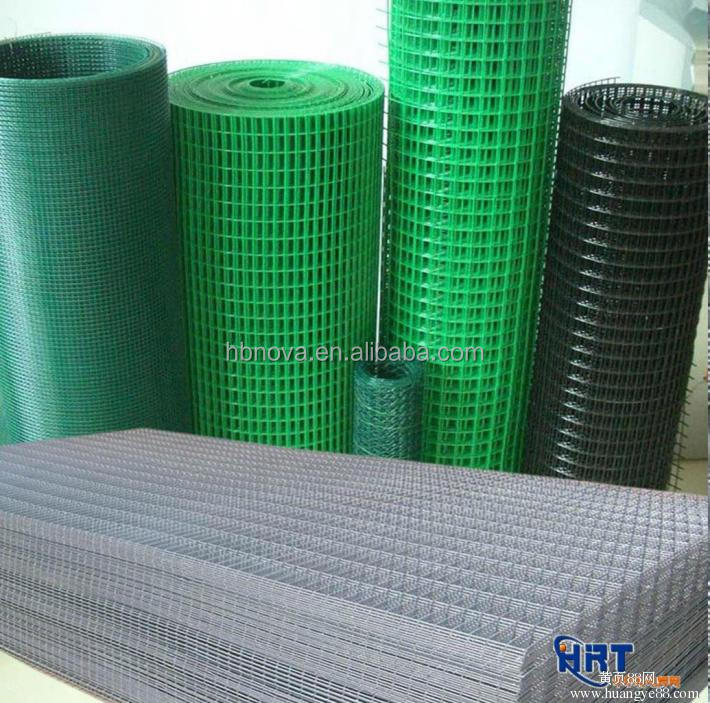 Factory Price galvanized PVC coated Welded Wire Mesh in rolls from Anping China